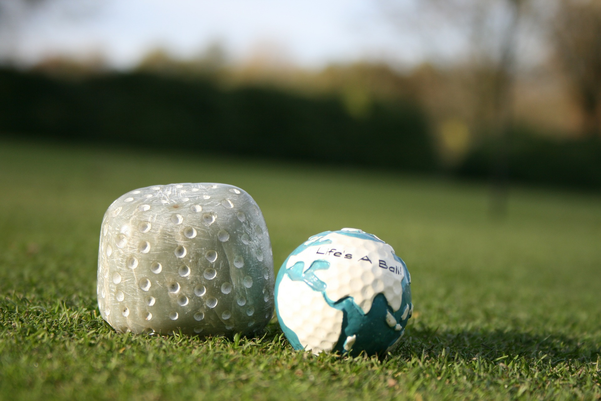 The evolution of golf ball